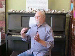 28 Roger M at Piano
